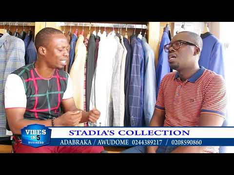 BUY QUALITY WEARS FROM ONEOF GHANA'S TOP BOUTIQUES - STADIA'S COLLECTION.