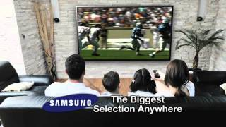 The Big Screen Store is the ONLY exclusive Samsung store
