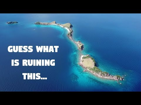 WE ARE DESTROYING PARADISE IN THE PHILIPPINES... (Garbage, Sambawan Island)