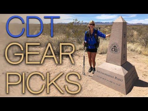 CDT 2018 Gear Picks