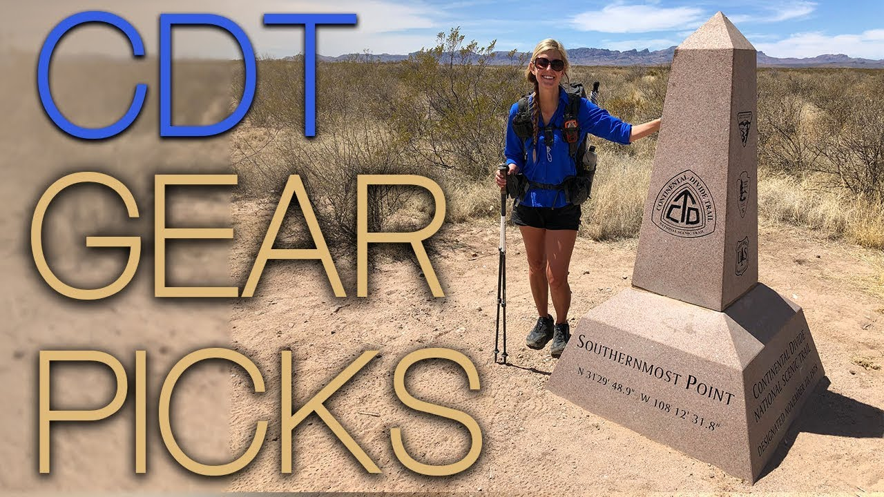 CDT 2018 Gear Picks