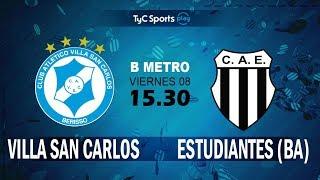 Villa San Carlos vs Club Atlético Est. full match