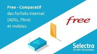 Forfaits Free : Comparatif des forfaits mobile Free et des abonnements Free internet