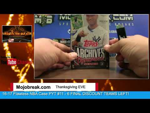 11/22 - 2017 Archives Baseball Post Season Edition 2 Box Break Personal For Nicholas M.