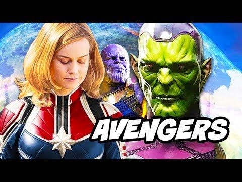 Avengers Infinity War Captain Marvel Coulson Crossover Explained