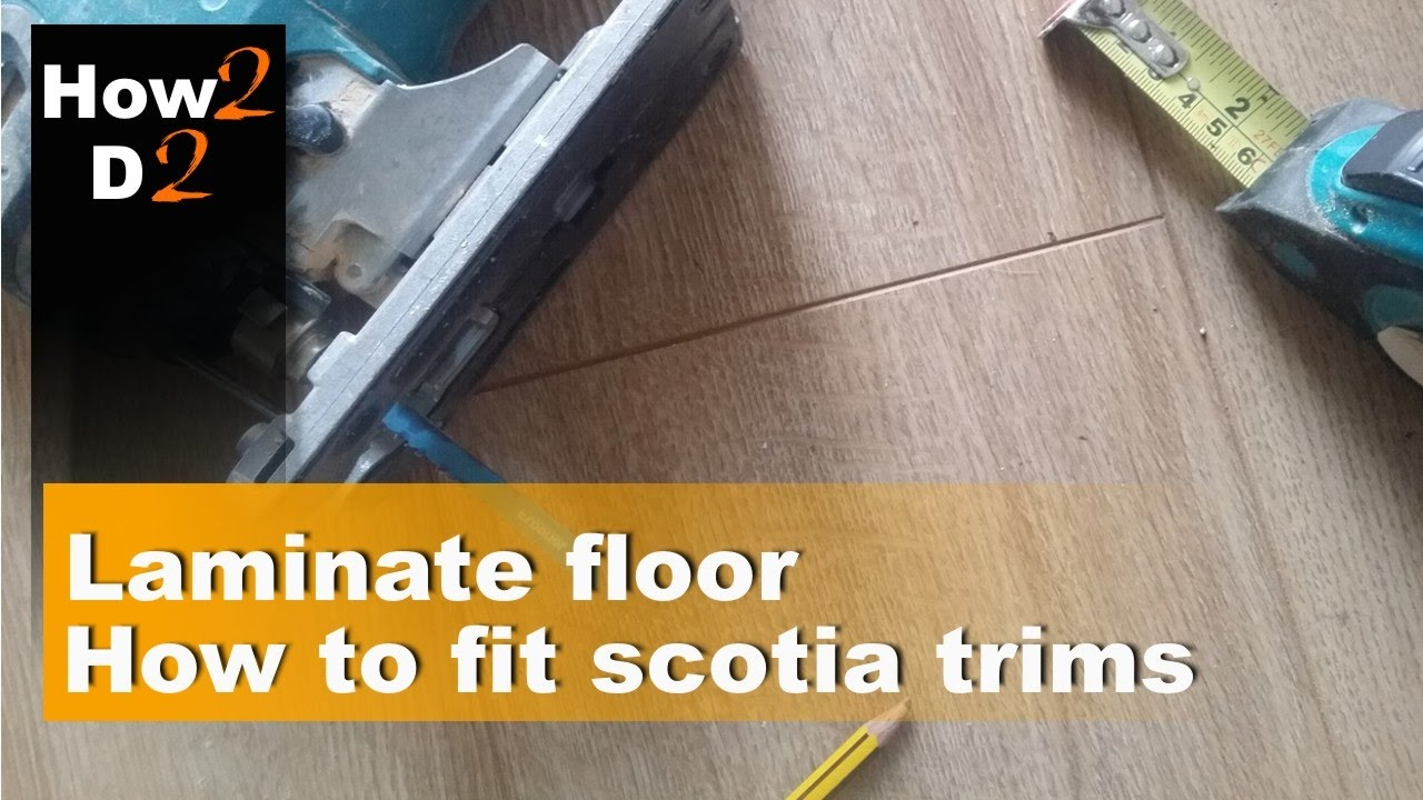 How To Fit Scotia Trims In Laminate Flooring Edging Corners Floor