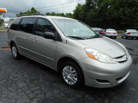 2006 Toyota Sienna CE FWD 7 Passenger 1 Owner With A Perfect CarFax And 26  MPG (Cumming, Georgia)