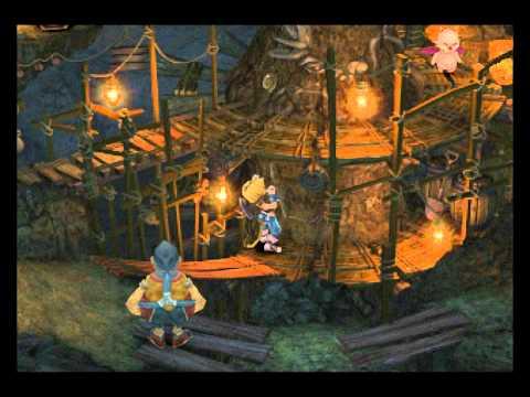 Final Fantasy IX Minigame(?) - Fossil Roo Mining