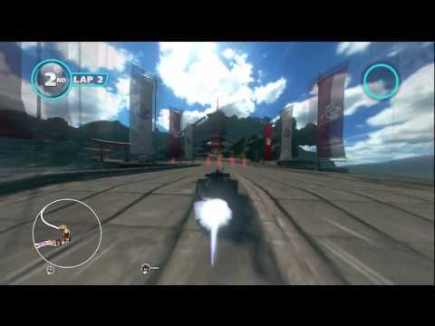 Sonic & Sega All Stars Racing Transformed - Seasonal Shrines with Joe Musashi (Shinobi)