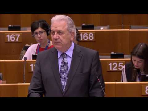 Remarks by Commissioner Avramopoulos at the EP Plenary Debate on visa liberalisation for Georgia