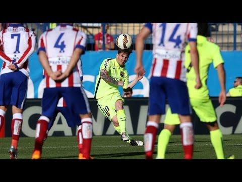 Gol de messi Barcelona vs Atletico de madrid 17-05-15
