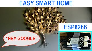 Gambar cover Super Quick Home Automation with ESP8266 - Control Anything from Google/Alexa