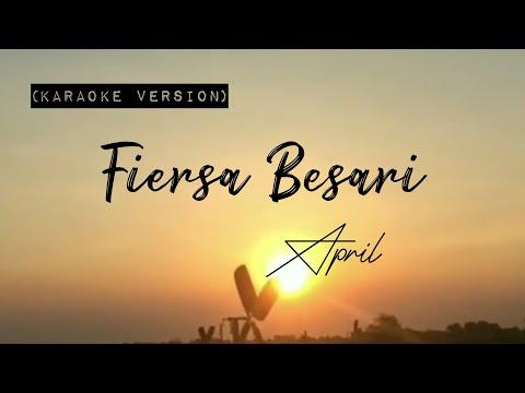 Fiersa Besari - April (Karaoke Version)