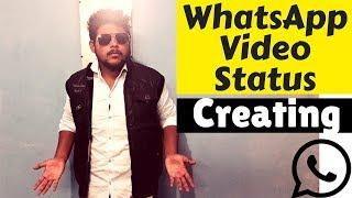 Create a beautiful WhatsApp Video Status | Learning - Must Watch