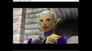 Visitando a la princesa Zelda! / The Legend Of Zelda Ocarina Of Time. Capitulo 2 parte 1/3