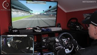 Wheel Stand Pro with Thrustmaster T-GT Wheel [Gran Turismo Sport]