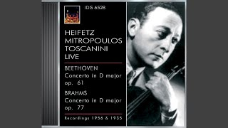 Violin Concerto in D Major, Op. 77: III. Allegro giocoso, ma non troppo vivace