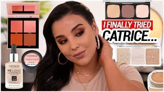 I Finally Tried A Full Face of Catrice Cosmetics...