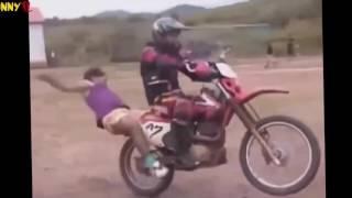 Мото приколы или неудачники на мотоциклах. 80lvl