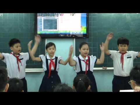 Giờ học Âm nhạc - Lớp 4/2 năm học 2013 - 2014