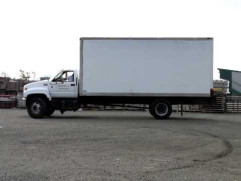 lot 100 2000 gmc c6500 box truck youtube GMC Dump Truck lot 100 2000 gmc c6500 box truck