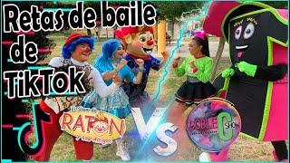RETA DE BAILES DE TIK TOK/RATÓN Y SUS AMIGOS VS DOBLE C SHOW  #BAILESTIKTOK #RATONYSUSAMIGOS #TIKTOK