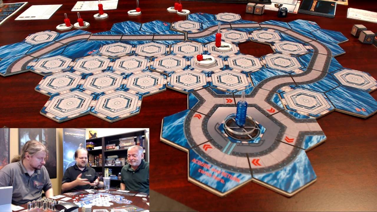Defense Grid The Board Game Beta Gencon2016 With Hidden Path Entertainment Youtube