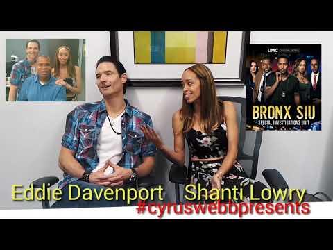 BRONX SIU stars Eddie Davenport and Shanti Lowry
