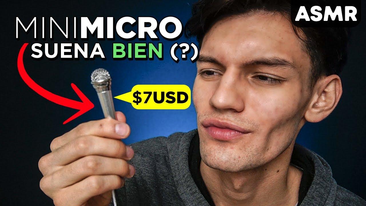 ASMR para DORMIR con MINI MICRÓFONO - Inaudible, Sonidos de B0ca y más - ASMR Español - Mol ASMR