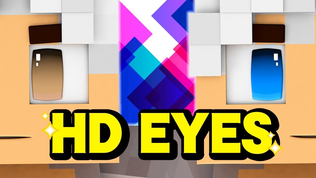 Make Amazing Hd Eyes For Your Minecraft Skin Youtube