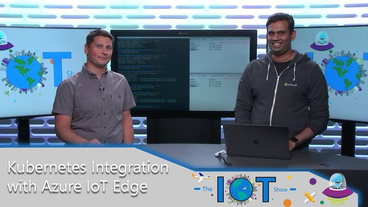 Channel 9-Video: Kubernetes-Integration mit Azure IoT Edge