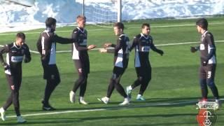 Контрольний матч: Верес - Карпати U21 2-1 (27/01/2017)