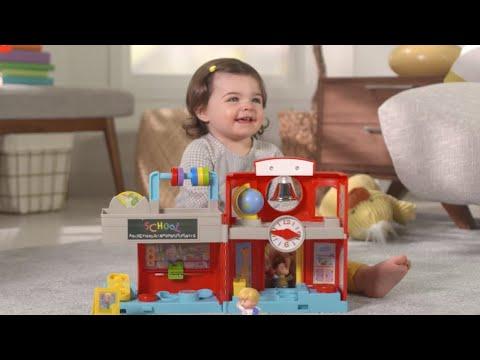 Fisher-Price Little People Friendly School | Mattel