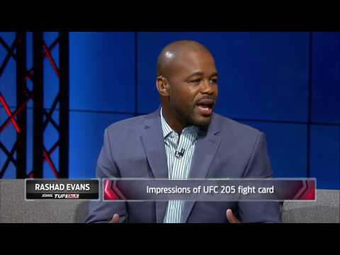 Rashad Evans talks UFC 205, Conor McGregor