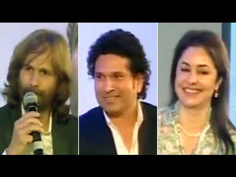 Sachin Tendulkar book launch: Ajit, Anjali speak on the Master Blaster