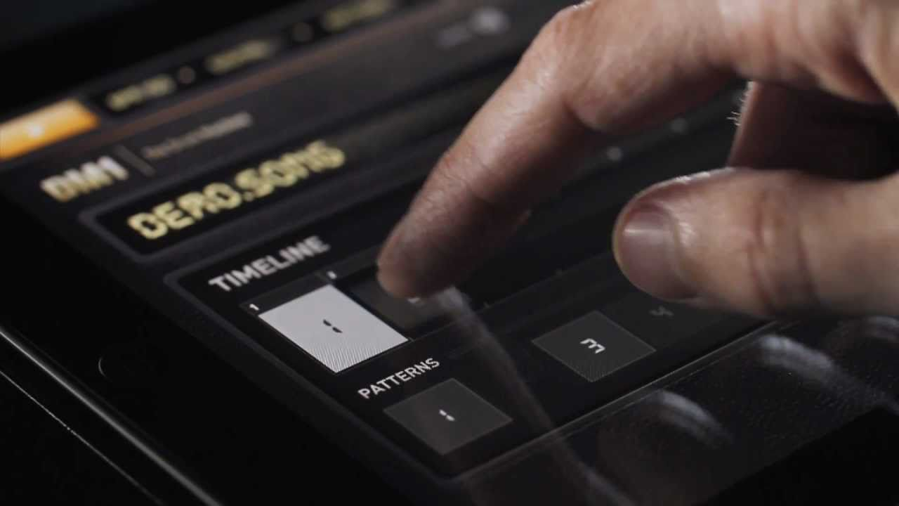 DM1 - The Drum Machine for iPad - By Fingerlab