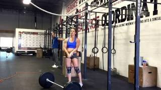 Granite Games Week 3, Wod 4 2016