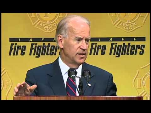 IAFF 2012 Convention - Vice President Joe Biden