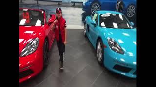 Porsche Choosing Right Color / Roblox Car Adventures!!!