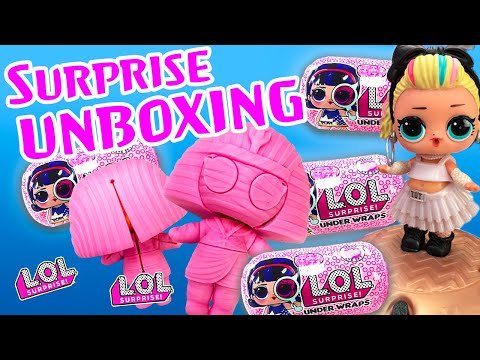 lol-surprise-dolls-open-new-underwraps!-featuring-thrilla,-80s-bb,-curious-qt,-fancy,-and-mc-swag!