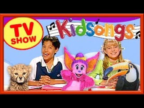 Kidsongs TV Show | Kids Fun Animal Songs | Purple People Eater | Do Your Ears Hang Low | PBS Kids