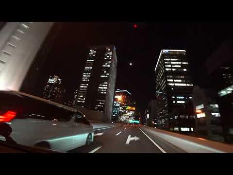 Tokyo Night Drive Highway SHINJUKU to UMIHOTARU