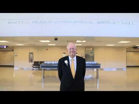The James A. Wilding International Arrivals Hall