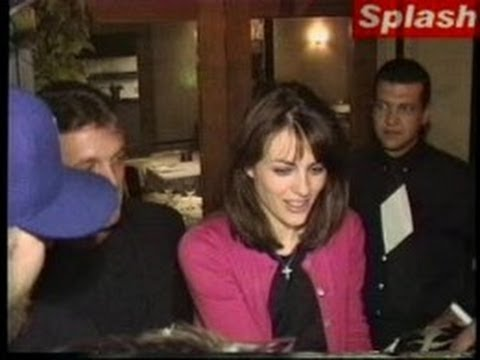 LIZ HURLEY sparks shoving match outside L.A. restaurant -- 1998