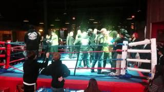 XFC Fight After Ref Stops Kickboxing Match