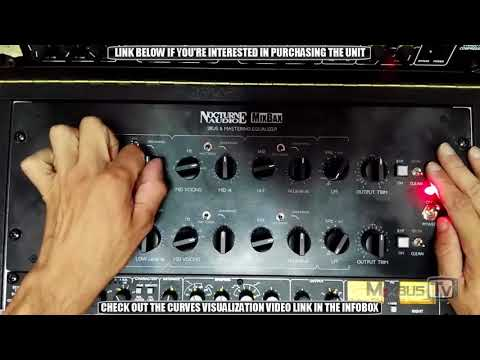 MIXBAX Custom Analog Mastering EQ FULL DEMO and REVIEW - By Nocturne Audio