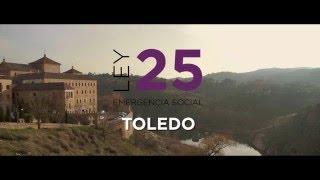 Rafa Mayoral explica la Ley 25 de Emergencia Social en Toledo