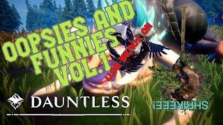 Dauntless Oopsies and Funnies Vol 1