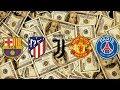 Para reir o llorar - Los 10 equipos más RICOS y los 10 más POBRES de la UEFA Champions League