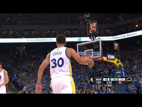 Steph Curry on Fire: All 24 of His First Quarter Points